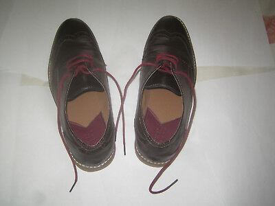 Mens shoes ' Burton Menswear London ' – size 9 – brown