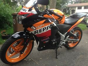 CBR250 ABS Repsol edition - clean $2900