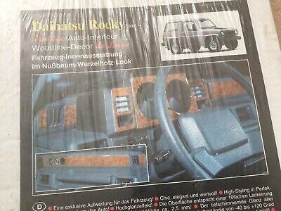 Daihatsu Rocky Feroza Sportrak Carbon Fibre Dash Dashboard Decals Trim for sale  Newport