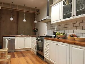 Second hand kitchen cabinetry, oven and Rangehood for sale Glen Iris Boroondara Area Preview