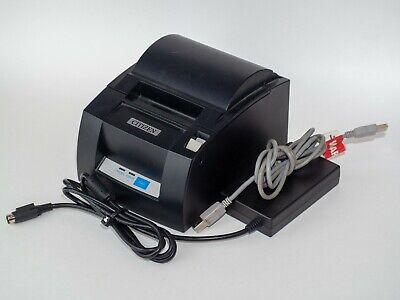 Citizen Ct-s310a Thermal Pos Receipt Printer Usb Power Usb Cable Autocut