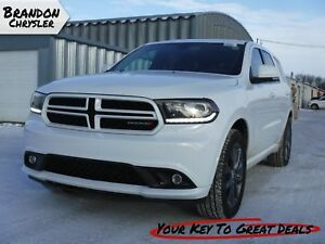 2017 Dodge Durango GT ~ 7 Passenger, Leather, Sunroof, Rear DVD!