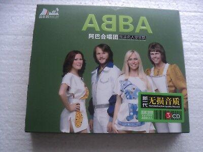 ABBA  - Greatest Hits - Hong Kong only edition 3 CD BOX SET / sealed