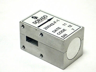 Dorado Intl 2iw42-f-1 Broadband Waveguide T-junction Isolator Wr-42 18-26.5 Ghz