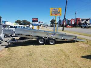 NEW 16ftx7ft Flatbed Tilt Trailer - Ifor Williams with ramp 3.5T ATM Kenwick Gosnells Area Preview