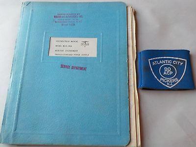 Trygon M15-30a Mercury Instrument Power Supply Instruction Manual