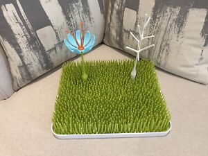 Boon dish rack with base + 2 holders