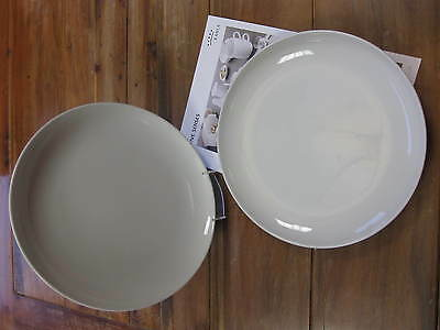 12 Stück Teller KAHLA Porzellan FIVE SENSES Essteller Ø 27 cm Menüteller weiß