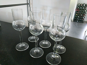 6 x Bohemia Crystal glasses Brookwater Ipswich City Preview