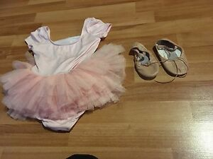 Leo ballerina leotard and ballerina shoes
