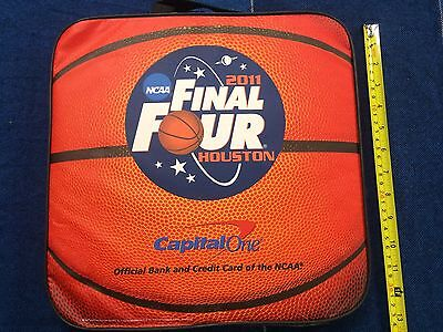2011 Ncaa Final Four Houston Seat Cushion   Capital One Bank