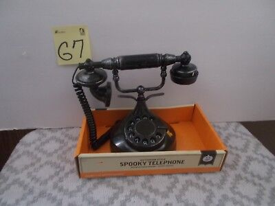 Halloween Spooky Phone Victorian Prop Haunted Animated Telephone