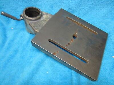 Original Vintage Buffalo Usa 15 Drill Press Tilting Table 2.75 Column Ref3
