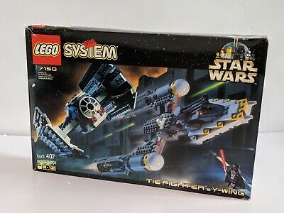 LEGO Star Wars Tie Fighter & Y Wing 1999