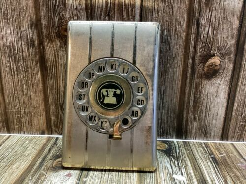VINTAGE 1970s GOLD INDEX WITH ROTARY DIAL PHONE INDEX UNTOUCHED by EAGLE