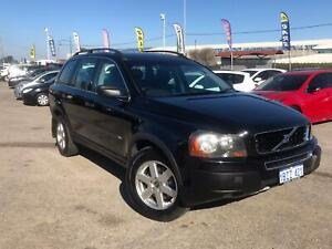 2005 Volvo XC90 P28 MY05 T Black 5 Speed Sports Automatic Wagon Petrol 7 Seater Cannington Canning Area Preview