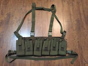WTS Light Weight Paintball or Airsoft chest rig