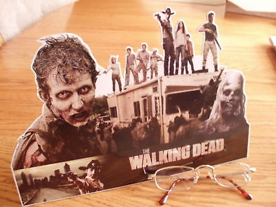 walking DEAD counter DISPLAY stand up standee standup zombie Halloween