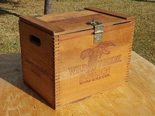 Vintage Wild Turkey Beyond Duplication Austin Nichols & Co Wood Crate