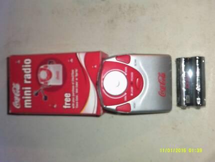 Coca Cola transistor Radio