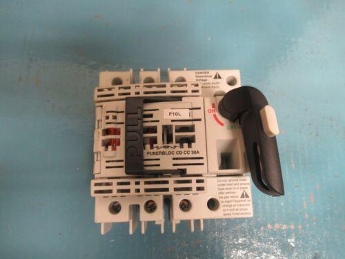 SOCOMEC 3 PH FUSEBLOC 37103003 30A 30 A AMP 600Vac