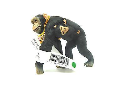 X5) PAPO (50194) Schimpanse mit Baby Wildtiere Affe Affen