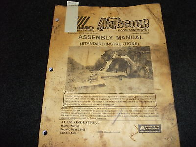 Alamo Axtreme Boom Arm Mower Assembly Manual