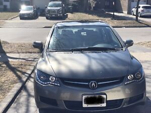 Acura csx navi/leather and paddle shifters