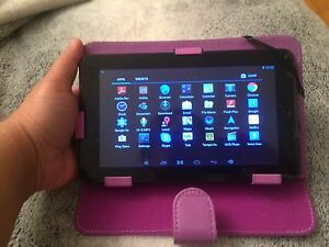 Dual core android tablet with free purple case