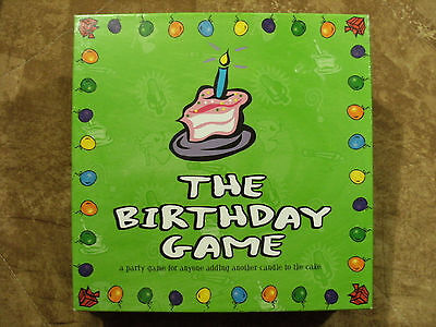 The Birthday Game by Late for the Sky - 4 or more players - ages 12 and up - NEW