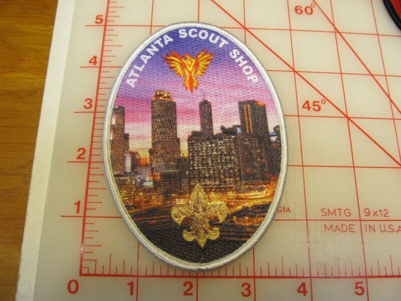 Atlanta Scout Shop collectible patch (b35)