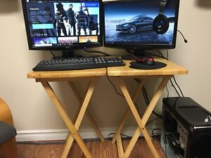 Selling my gaming pc with 2 monitors