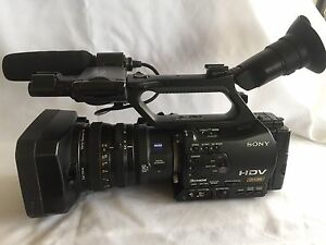 Sony HVR-Z7P Camcorder - Black with VCL-308BWH wide angle lens Torquay Surf Coast Preview