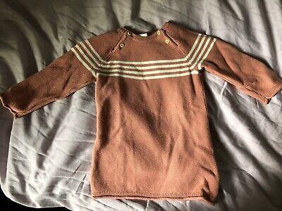 H&M Knit Dress Baby Girl 6-9 Months