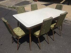 retro laminate table and chairs dining tables gumtree australia
