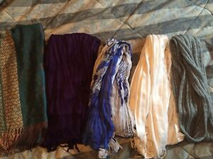 Beautiful scarf lot! $15 for all