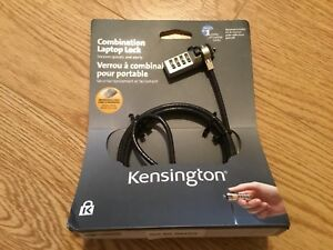 Kensington combination laptop lock - Unopened