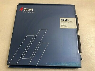 Box Of 5 Pcs.struers Md-dac 300mm Cat. No. 40500073 S23