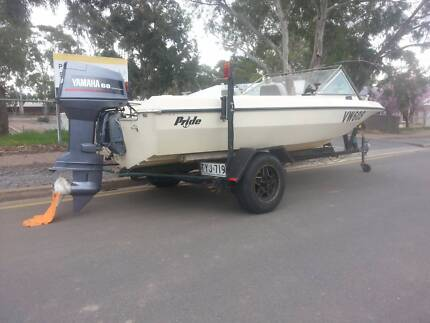 Pride Fury Runabout Boat 4.7m Campbelltown Campbelltown Area Preview