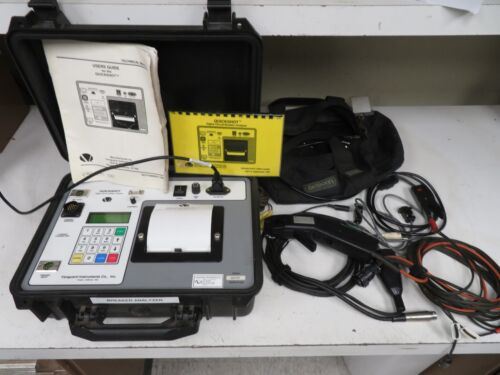 Vanguard Instruments QuickShot Digital Circuit Breaker Analyzer - w/ accessories