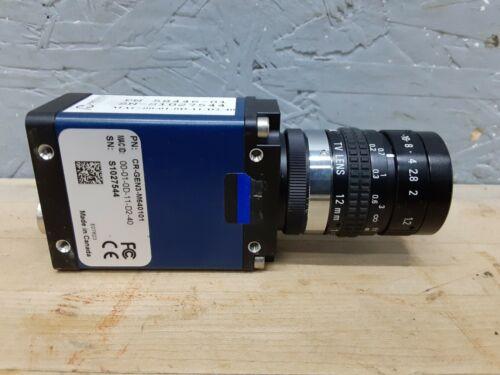TELEDYNE DALSA Machine Vision Inspection Camera CR-GEN3-M640101 w/ lens