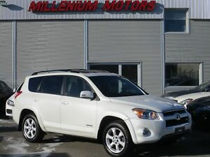 2009 Toyota RAV4 LIMITED V6 4WD / LEATHER / SUNROOF / B.CAM