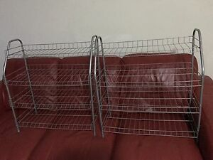 One PAIR SHOES RACK LEFT $5 Chatswood Willoughby Area Preview