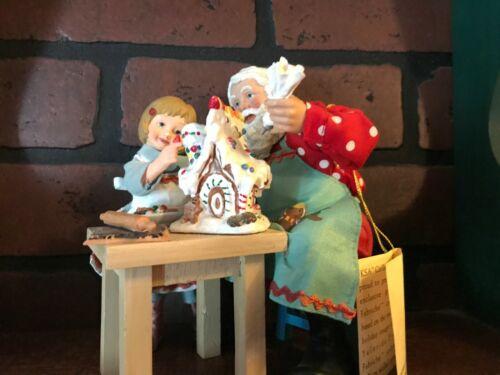 KSA Collectibles Visions Of GIngerbread Santa with girl IOB