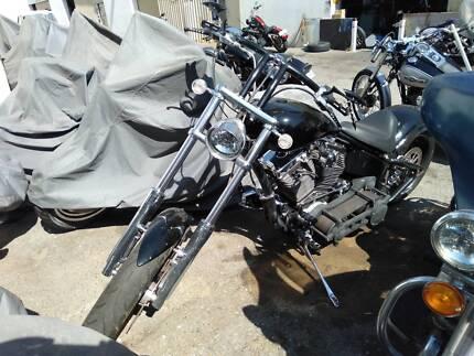 Harley Custom Chopper Malaga Swan Area Preview