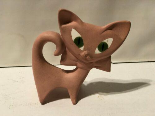"""Cat Ceramic  Figurine 5.5"""" Tall  Adorable"""