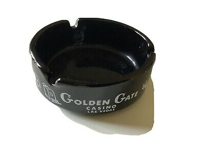 VINTAGE Golden Gate casino ashtray Las Vegas Excellent Condition