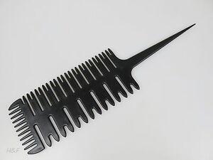 3 Way Hair Foil Balayage Highlighting Comb - Smart Sectioning Weave Tint - UK