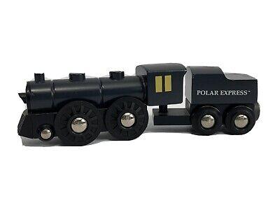 BRIO Polar Express Wooden Train 2pc Set RARE Christmas