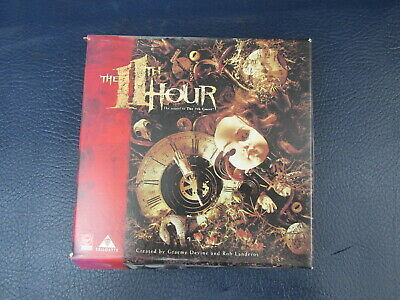 The 11th Hour Trilobyte Big Box PC CD-ROM Game Puzzle Adventure with Game Guide